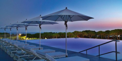 fortino Sunshade Parasol by Glatz Outdoor Furniture in the Algarve - Quinta do Lago - Vale do Lobo - Algarve - Vilamoura - Almancil - Tavira - Carvoeiro - Loulé- Portugal Status Concept